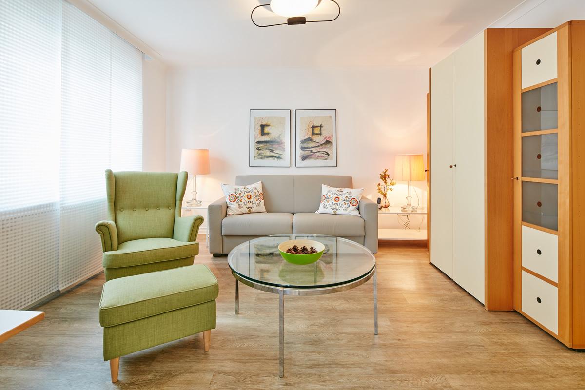 Wohnzimmer - 5 Sterne Ferienwohnung Attendorn