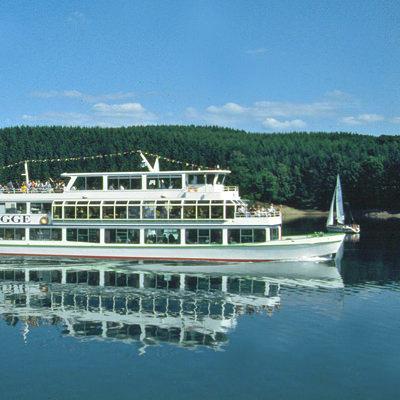 ausflugsziele biggeschifffahrt weisseflotte Attendorn biggesee 5 Sterne Ferienwohnung Attendorn