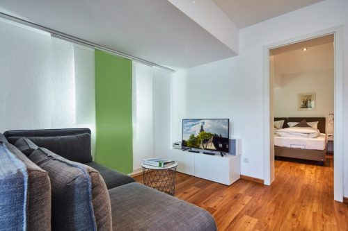 Offener Wohnraum - Ferienwohnung Domblick