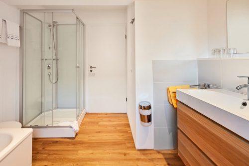 Badezimmer - Ferienwohnung Domblick