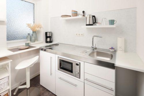 Kochnische im Mini Apartment
